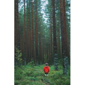 Isbjörn Junior Light Weight Rain Jacket Sun Poppy